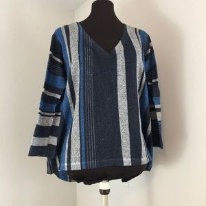 Nally and Millie   Loose Knit Stripe Sweater